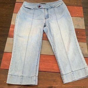 3 FOR $20 Venezia Capri Crop Jeans Size 14